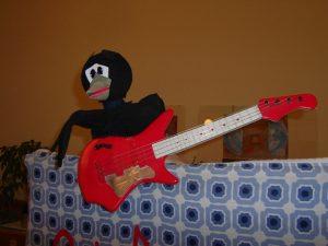 Vrana in glasba